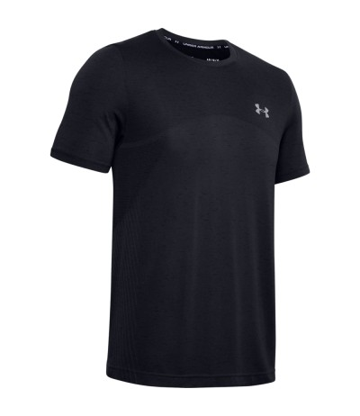 UNDER ARMOUR SEAMLESS SS black
