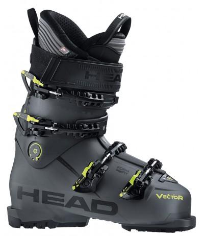 HEAD VECTOR EVO ST anthracite/yellow 2020/21
