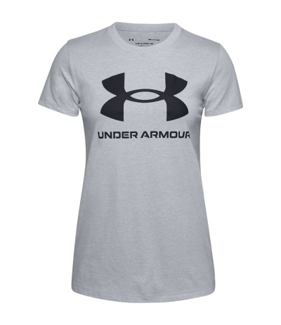 UNDER ARMOUR LIVE GRAPH.W T-S light gray