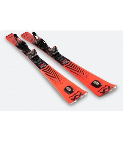 VOLKL RACETIGER RC RED+VMOTION 12 BLACK/RED