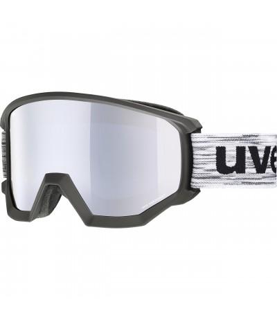 UVEX MASCHERA ATHLETIC FM black mat/S2