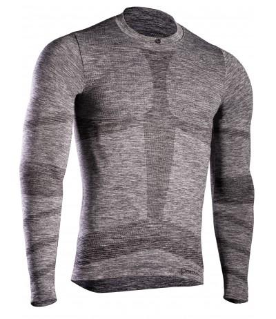 IRON - IC T-SHIRT M/LUNGA PERFORMANCE MAN grey melange