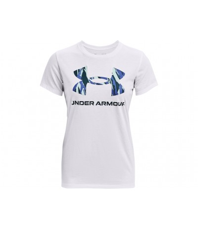 UNDER ARMOUR LIVE GRAPH.W T-S white