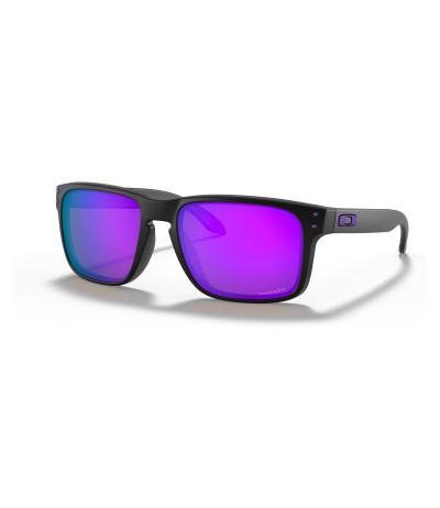 OAKLEY HOLBROOK matte black/prizm violet