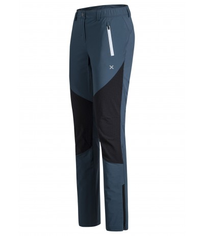 MONTURA CADORE PANTS W blu cenere/bianco