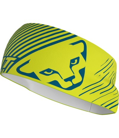 DYNAFIT GRAPHIC PERFORMANCE HEADBAND lime punch