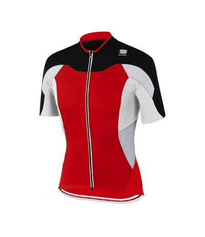 SPORTFUL CRANK JERSEY 567 red/black/white
