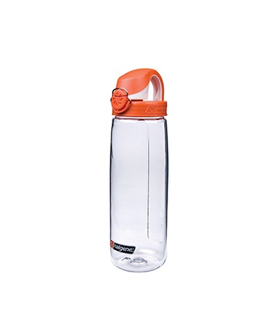 NIC IMPEX NALGENE BOUTEILLE OTF 0,65 lt colore 02 clear/ orange