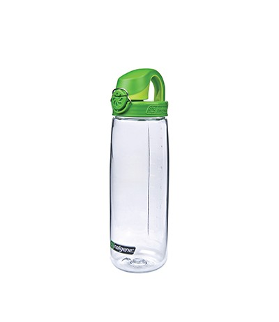 NIC IMPEX NALGENE BOUTEILLE OTF 0,65 lt colore 03 clear/ green