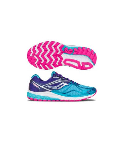 SAUCONY RIDE 9 WOMAN 10318 navy/blue/pink