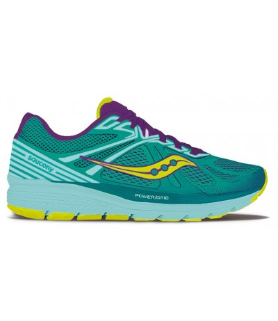 SAUCONY SWERVE WOMEN teal/purple/ctn