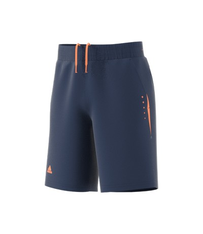 ADIDAS SHORT 1/2 JUNIOR mysblu/orange