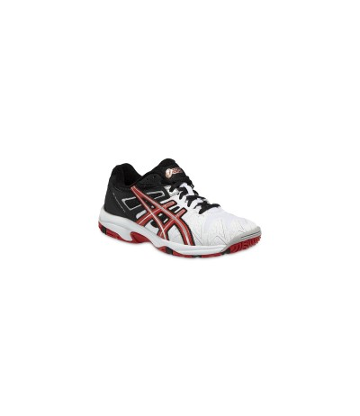 ASICS GEL RESOLUT. JR wht/f.red/bl SUOLA MULTISUPERFICIE - JUNIOR