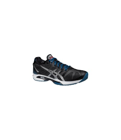 ASICS GEL SOLUTION SPEED 2 onix/silver SUOLA MULTISUPERFICIE - UOMO