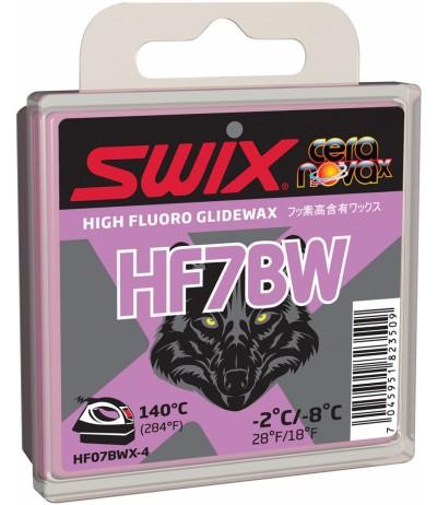 SWIX HF7BW nera -2 -8 40 gr.