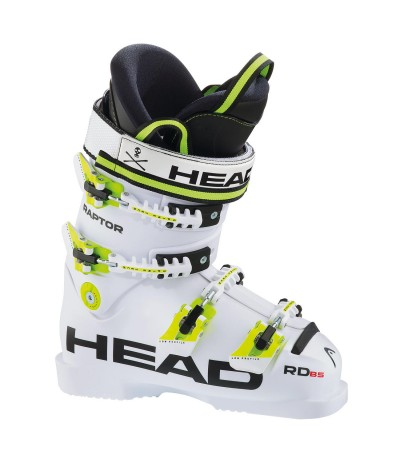 HEAD RAPTOR B5 RD wht opaco 16/17