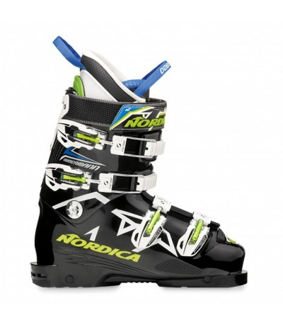 NORDICA BOBBERMAN TEAM 80 nero/verde