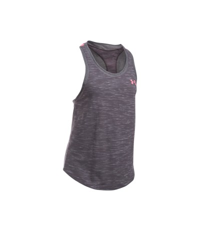 UNDER ARMOUR MESH WORDMARK W TANK cbh/cbh/psh