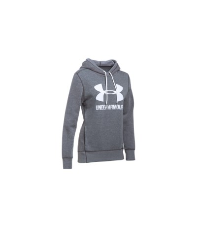 UNDER ARMOUR FAVORITE FLEECE WOMAN cbh/wht