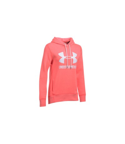 UNDER ARMOUR FAVORITE FLEECE WOMAN mnr/wht