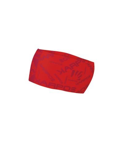 KARPOS BPELMO HEADBAND 349 flame scarlet/hot red