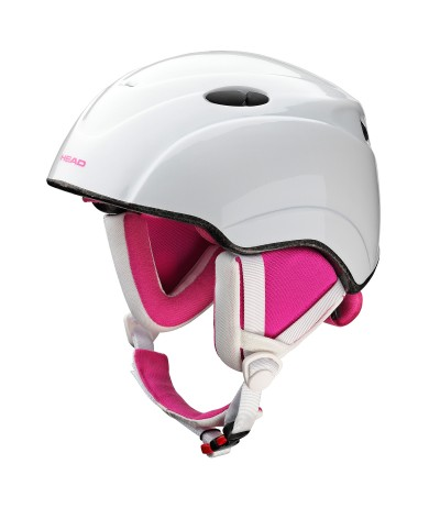 HEAD casco STAR white/pink JUNIOR