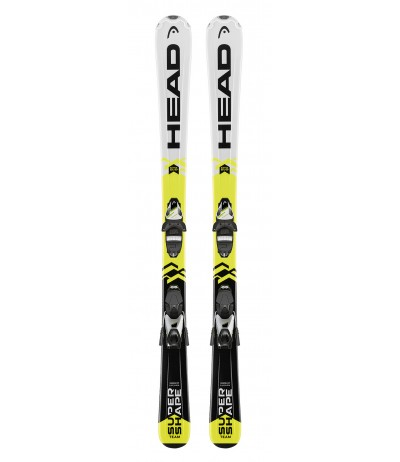 HEAD SUPERSHAPE TEAM SLR2 + SLR 7.5 17-18 JUNIOR