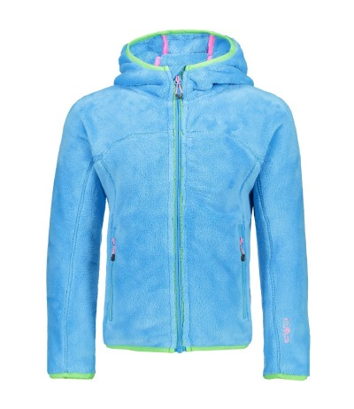 CMP GIRL FIX HOOD JACKET L714 caribe