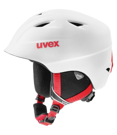 UVEX AIR WING 2 PRO JUNIOR 12 white-red mat