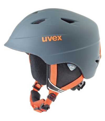UVEX AIR WING 2 PRO JUNIOR 58 titanium-orange mat