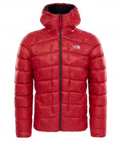 THE N.FACE M SUPERCINCO DOWN JACKET tnf red