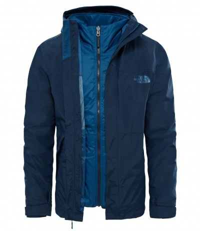THE N FACE M NASLUND TRICLIMATE JKT urb navy