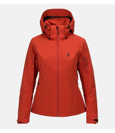 PEAK PERFORMANCE ANIMA JKT W orange planet