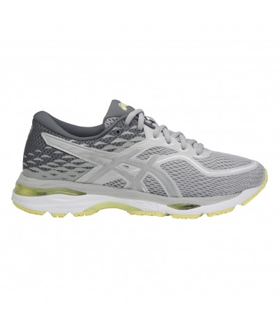 ASICS GEL CUMULUS 19 W glacier grey/silver/lime light