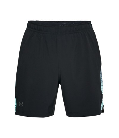 UNDER ARMOUR FORGE 7IN TENNIS SHORT blk/tro