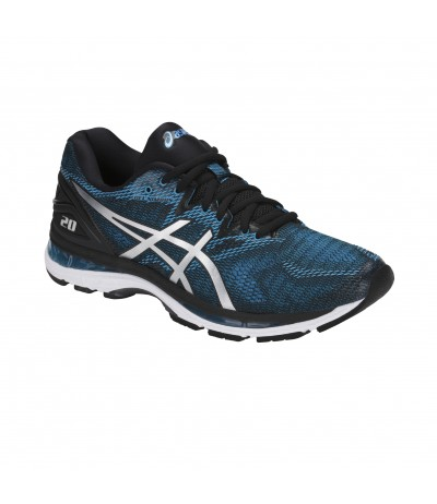 ASICS GEL NIMBUS 20 island blue/white/black