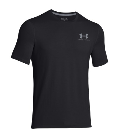 UNDER ARMOUR CC LEFT CHEST LOCKUP blk/stl