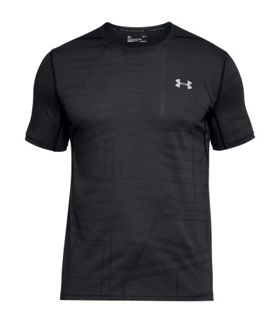 UNDER ARMOUR UA THREADBORNE ELITE SS blk/gph