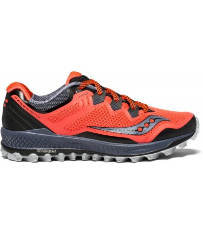 SAUCONY PEREGRINE 8 WOMAN vizi red/grey/black