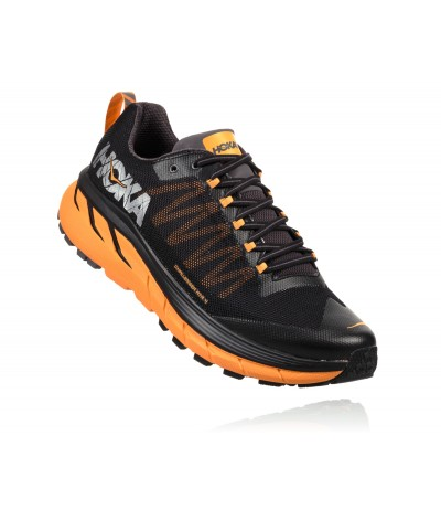 HOKA CHALLENGER ATR 4 MEN'S black/kumquat