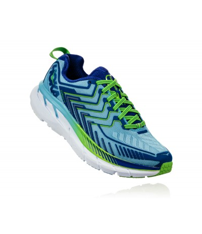HOKA CLIFTON 4 WOMAN sky blue/surf the web