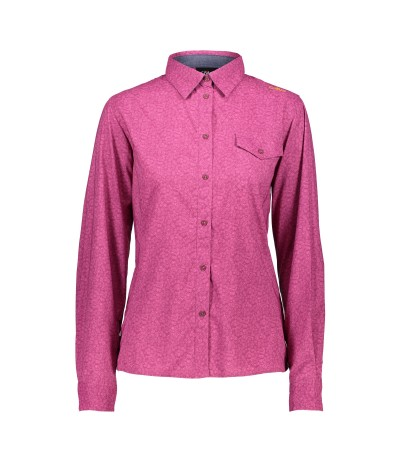 CMP WOMAN SHIRT 54AH borgogna hot