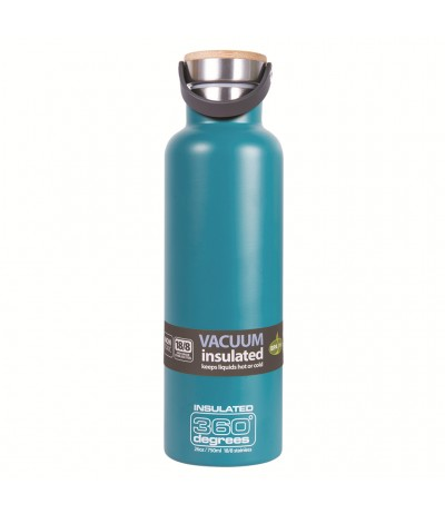 NIC IMPEX BOUTEILLE VACUUM INS.750 ml teal