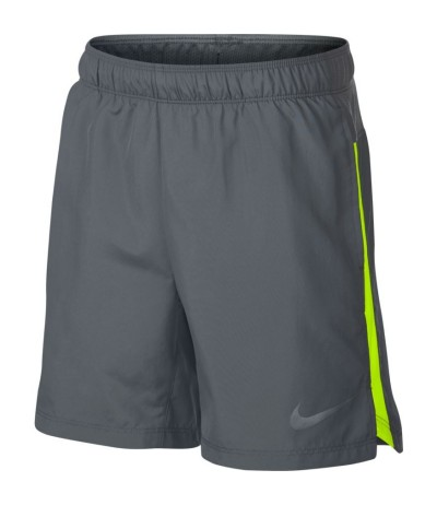 NIKE SHORT 6IN CHALLENGER cool grey/volt