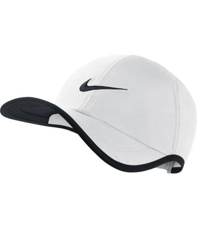 NIKE AROBILL FTHRLT CAP white/black