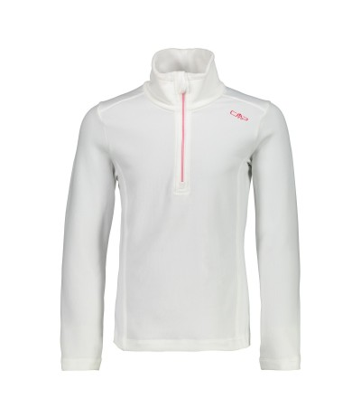 CMP GIRL SWEAT 69BL bianco/corallo