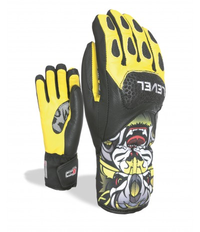 LEVEL GUANTO SQ JR CF giallo