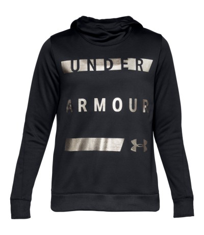 UNDER ARMOUR SYNTETIC FLEECE PULLOVER W 0001 blk/tnl