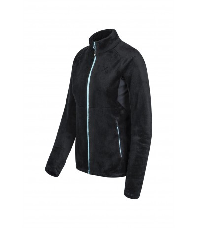 MONTURA POLAR BCONFORT 2 JACKET WOMAN 9029 nero/ice blu