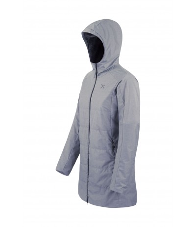 MONTURA BADIA LONG JACKET WOMAN 94 grigio medio